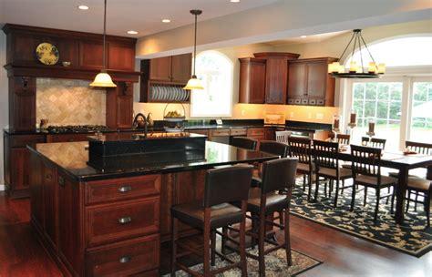 cabinets with granite black granite with cherry cabinets kitchen wonderful