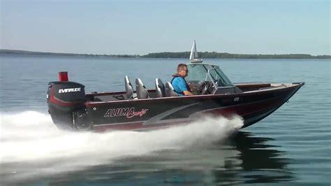 alumacraft deep v boats 2016 alumacraft 17 trophy 175 deep vee boat test youtube