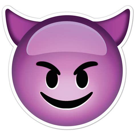 Smiley Bilder Aufkleber by Aufkleber Smiley Gesicht Teufel Mit H 246 Rnern