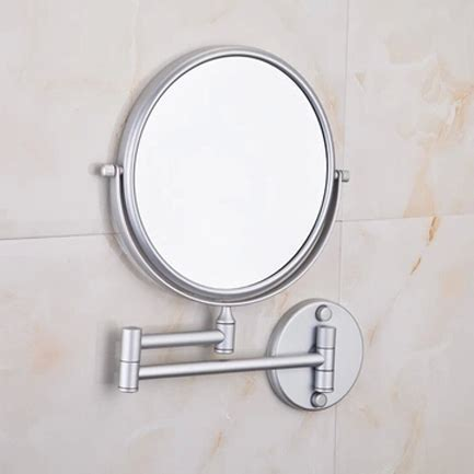 Telescoping Mirror For Bathroom Aliexpress Buy Space Aluminum Telescopic Hotel Bathroom Mirror Mirror Folded Activities