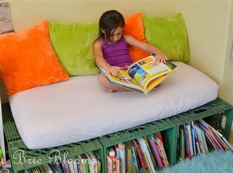 creative book storage ideas  kids