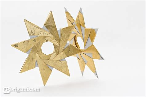 Origami Eight Pointed - 8 pointed origami by sinayskaya two designs