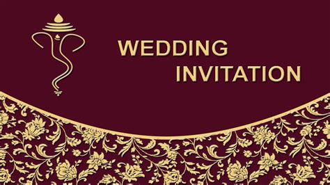 invitation card design tutorial photoshop how to create wedding invitation card front page in