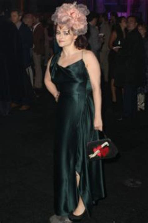 Helena Bonham Carries Intestine Bag At Harry Potter by Harry Potter And The Deathly Hallows 2 Premiere Best And
