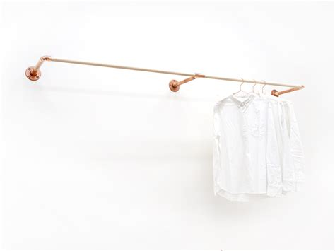 Wall Mounted Cloth Rack by W Rack Wall Mount Clothing Rack
