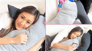 diy boyfriend cuddle pillow laurdiy