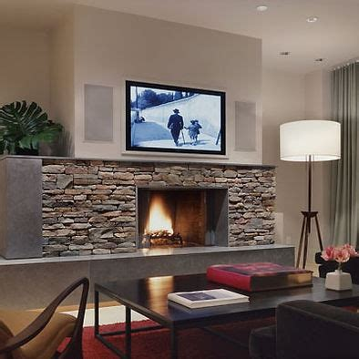 modern fireplace with tv above ask home design tv above fireplace design pictures remodel decor and