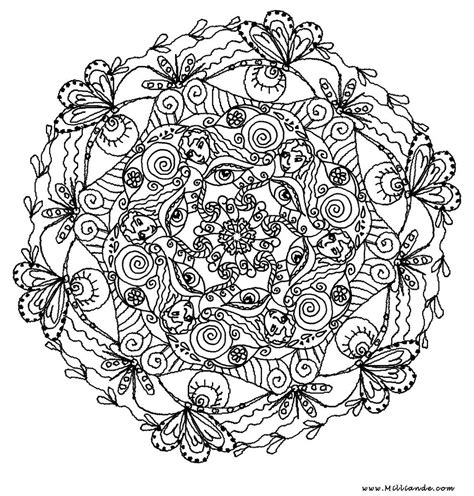 Mindful Mandalas Juste Etre Just Be Mandala Free Coloring Pages
