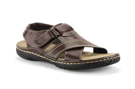 new mens outdoor dress sandals cushioned comfort footbed