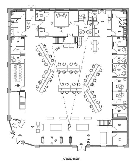 office floor plan ideas drawn office plan drawing pencil and in color drawn