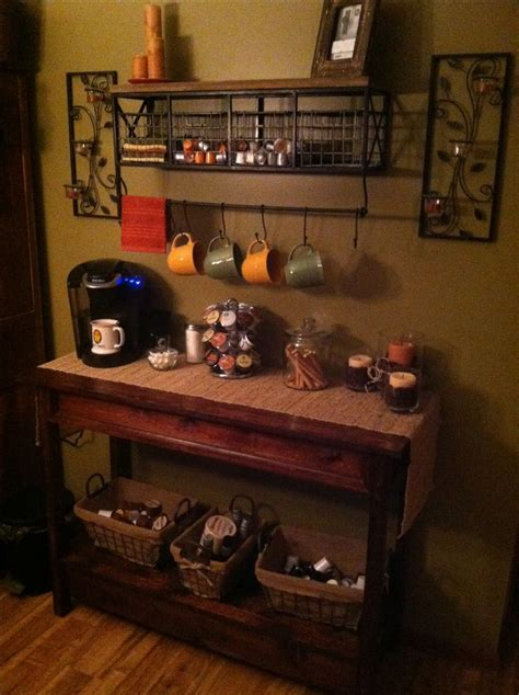 Coffee Bar Table Coffee Bar Organization Tips