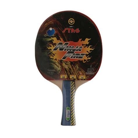 stag rubber st stag table tennis bat