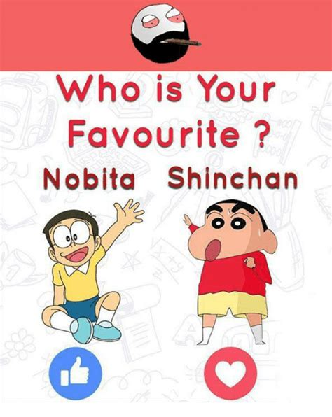 Who Is This Meme - who is your favourite nobita shinchan meme on sizzle