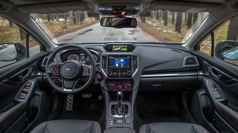 subaru xv interior subaru xv 2018 review by car magazine
