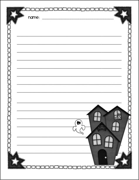 spooky writing paper free spooky writing templates search results calendar 2015