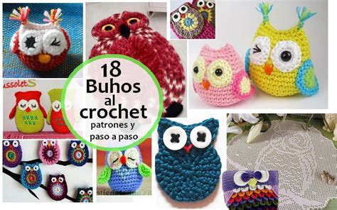 instrucciones para tejer buhos 18 buhos tejidos al crochet con patrones y paso a paso