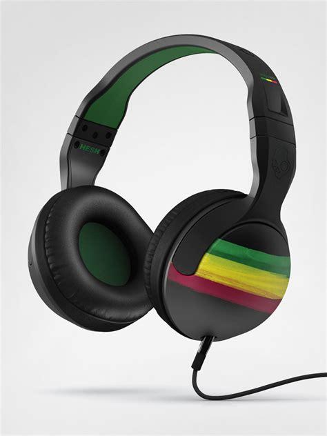 Headphone Skullcandy Skullcandy Headphones Hesh Rasta