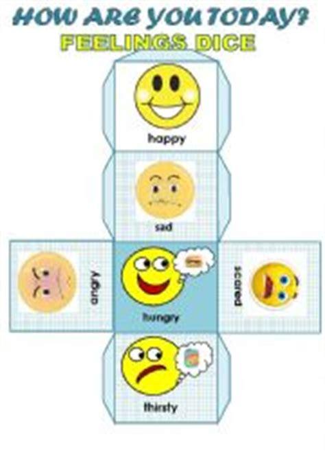 printable feelings dice english worksheets feelings worksheets page 34