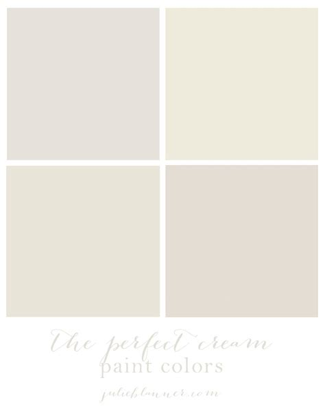 the best cream paint colors see how they look in actual rooms in different lighting blogger
