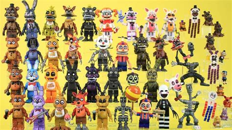All Collection all fnaf animatronics collection 2018 update waves 1 4