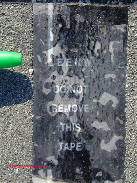 asphalt shingle cellophane strip guide leave  remove