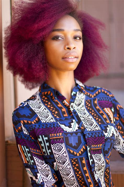 natural hairstyles dyed 8 ways to temporarily dye your hair for halloween