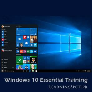 learn windows 10 tutorial watch free video trainings and tutorials learningspot pk