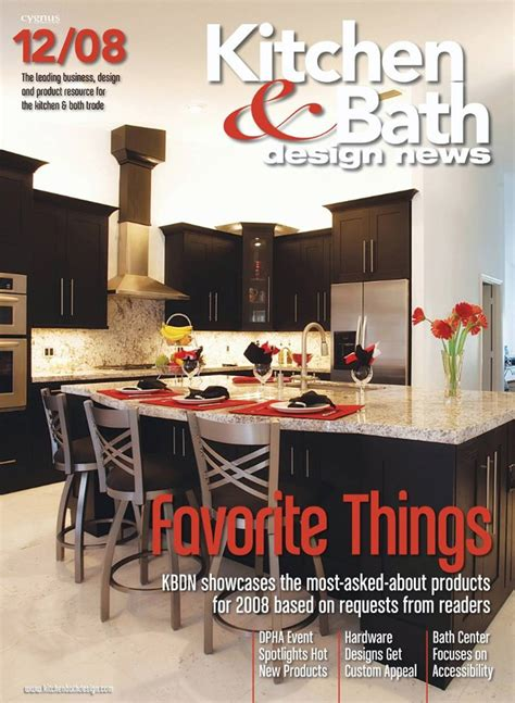 designer kitchen and bathroom magazine free kitchen bath design news magazine the green head