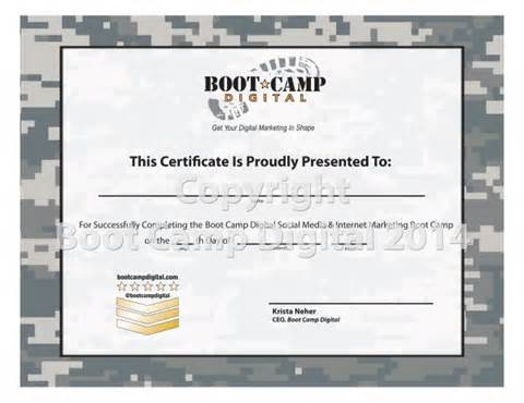 Boot C Certificate Template by Free Boot C Certificate Template