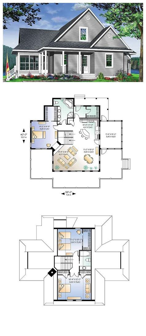 coastal cottage floor plans coastal cottage house plans flatfish island designs