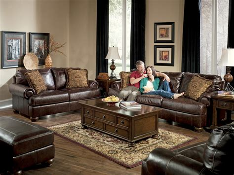 living room with leather sofa amusing leather living room furniture sets design