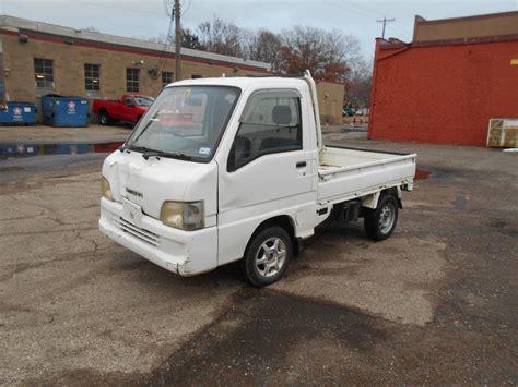 subaru mini truck subaru sambar utility mini truck runs october