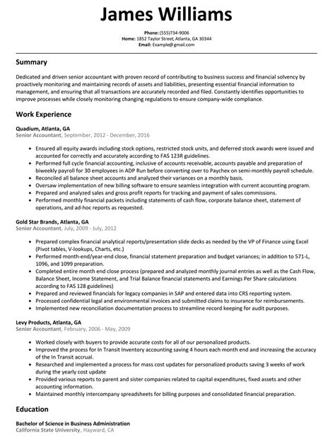 sample accounting resume objective tehnolife