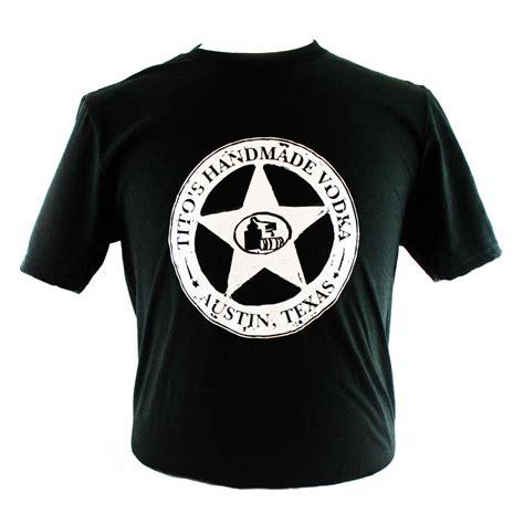 Logo T Shirt tito s handmade vodka store silver logo t shirt