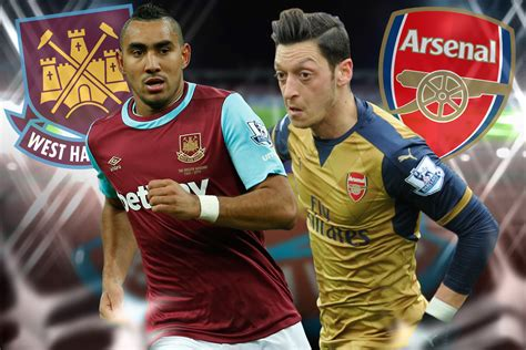 arsenal jadwal tv tv online live streaming west ham united vs arsenal