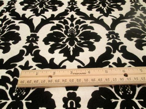 black and white velvet wallpaper last pc 2yds vintage black and white velvet flocked damask