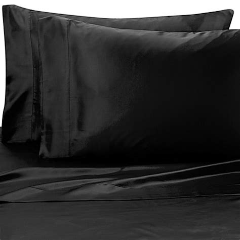 silk pillow cases bed bath beyond buy satin luxury pillowcases set of 2 from bed bath beyond