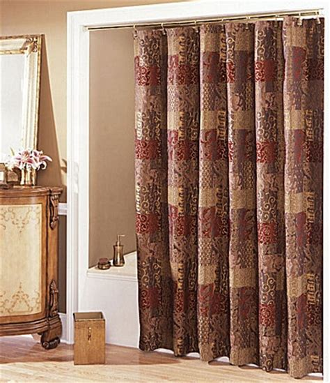 dillards drapes dillards shower curtains brilliant croscill jasmin shower