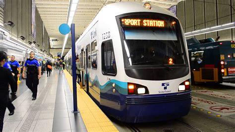 Sound Transit Link Light Rail by Sound Transit Link Light Rail Seattle Tacoma