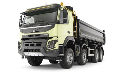 latest volvo truck new volvo fmx truck launched autoevolution