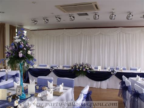 Navy Blue Wedding Decorations balloons 4 you danielle and michael wedding at the fry club keynsham 24th july 2010