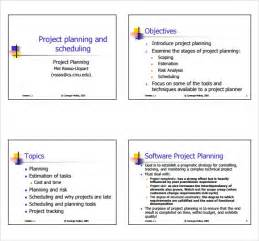 simple plan template sle project plan 11 exles format