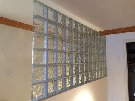 Glass Block Room Divider Glass Block Room Divider Glass Block Partition Modern Screens And Room Dividers New York By
