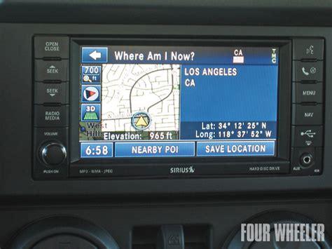 Jeep Navigation System Jeep Patriot Navigation System Car Interior Design