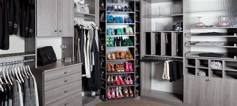 Plus Closets by Plus Closets 360 Organizer Shoe Spinner Built In Rotating