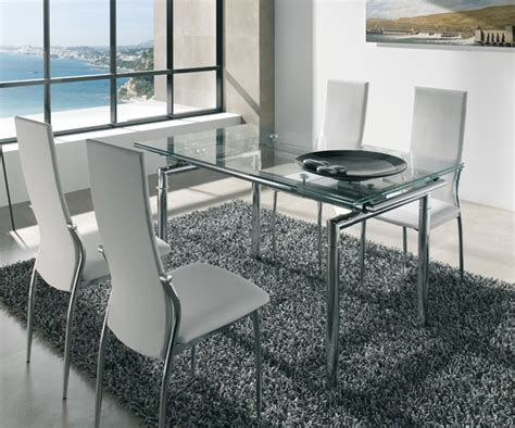 mesas de vidrio  comedor mesa cristal redonda buscar