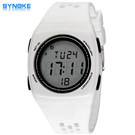 2016 pu watches waterproof fashion lcd digital