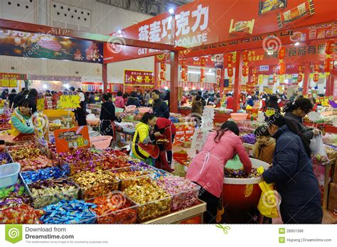 new year shopping image new year shopping festival in sichuan editorial