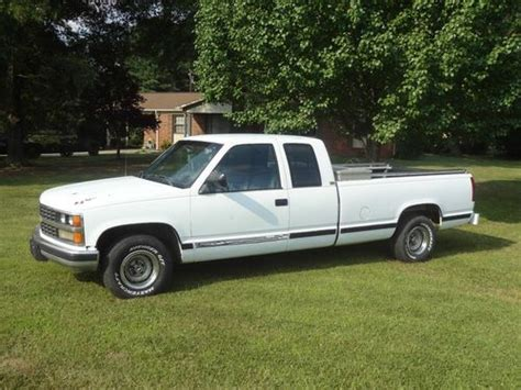 truck bed cab buy used 1988 chevrolet ext cab long bed truck in eden