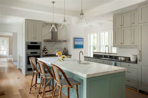 turquoise kitchen turquoise cabinets contemporary kitchen elle decor